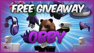 Free Hats! | The Free Prize Giveaway Obby! | ROBLOX | Event |