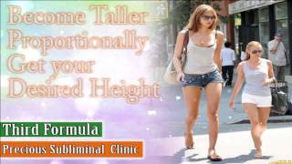 Grow Taller To Your Desired Height - 3rd Formula [Affirmation Frequency] - INSTANT RESULTS
