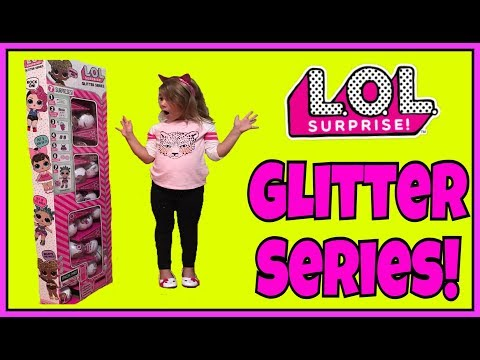 LOL Surprise Dolls NEW Glitter Series FULL BOX Ultra Rare Peal Ball Flashlight Hack GIVEAWAY