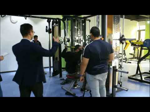 Customers From Saudi Arabia Are Testing Multi Gym Functional Trainer & Smith Machine.