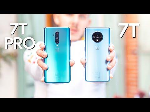 OnePlus 7T vs OnePlus 7T Pro : Quel est le MEILLEUR ?