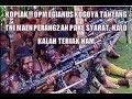 KOPLAK , OPM TANTANG P3RANG TNI TAPI SYARATNYA JGN PAKE HELIKOPTER DAN BOM