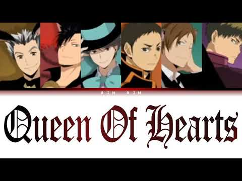 Download [Haikyu!!] Captains - Queen Of Hearts (cover) Lyrics color-coded (JPN_ROM_ENG)