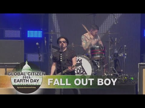 Fall Out Boy live at Global Citizen Earth Day