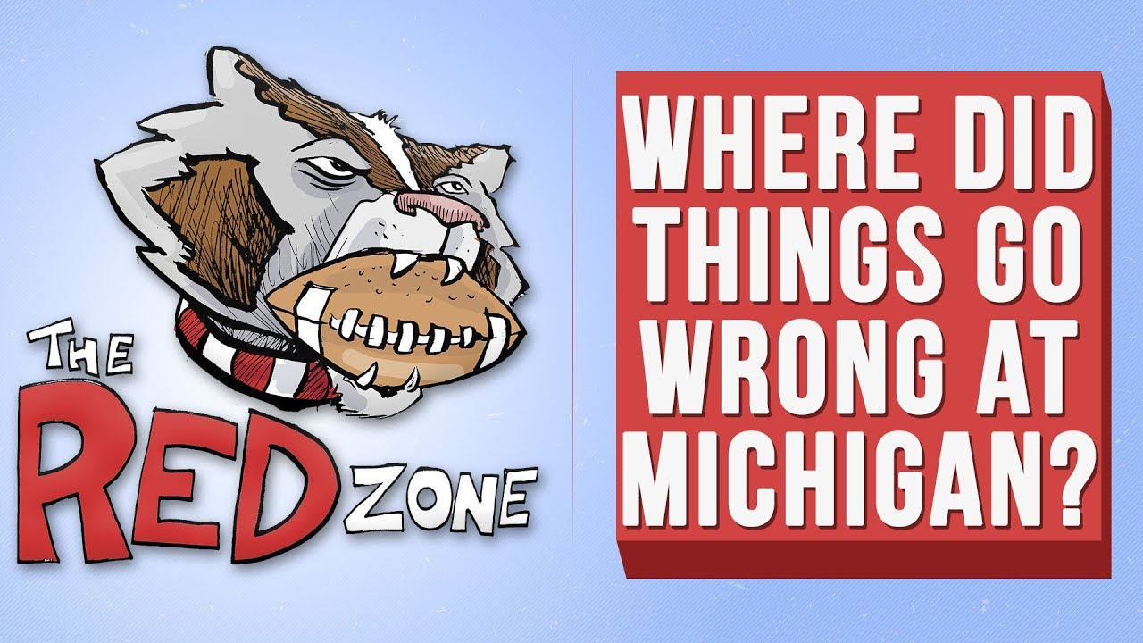 Video: The Red Zone: Where did things go wrong at Michigan?