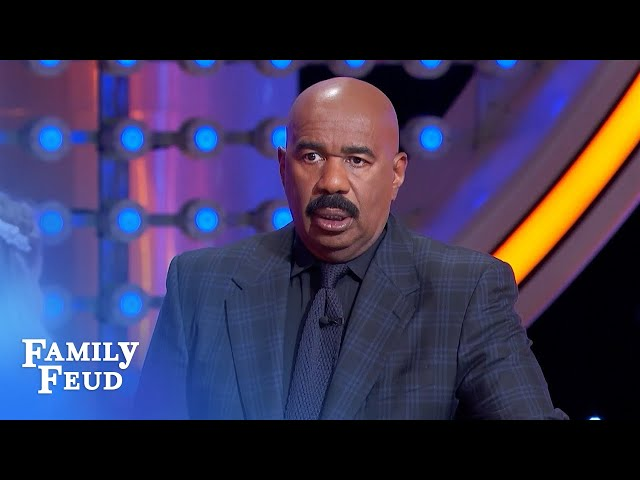 Game show legends: does Steve Harvey make the cut?? | Family Feud