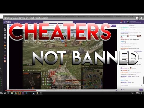 Wargaming Doesn't Ban Cheaters in World of Tanks