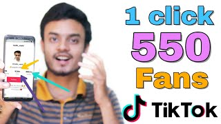 How to increase Tiktok Followers | 1 minute 500 Fans on Tiktok | 1000%