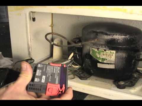 Convert freezer to refrigerator-freezer - YouTube