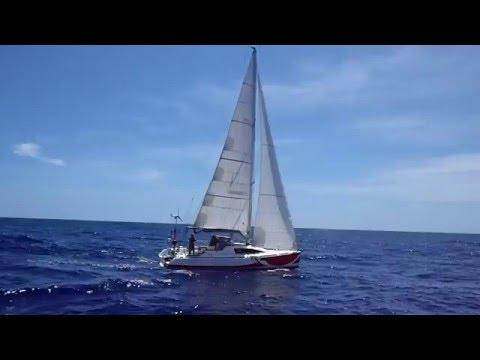 Le Malango 1045 Yec'hed Mat en route vers le Brésil