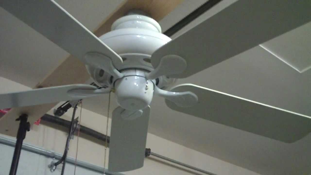 52 hampton bay quick connect ceiling fan youtube aloadofball Choice Image