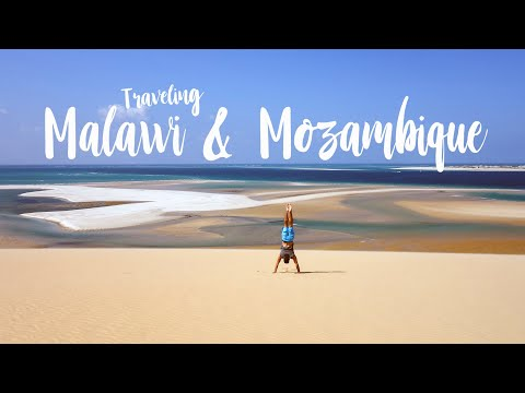 Backpacking Malawi & Mozambique [HD] // Lake Malawi - Liwonde NP - Tofo Beach and much more!