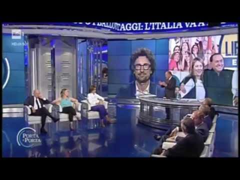 Bruno Vespa a Porta a Porta su sconfitta di Mauro Giliberti