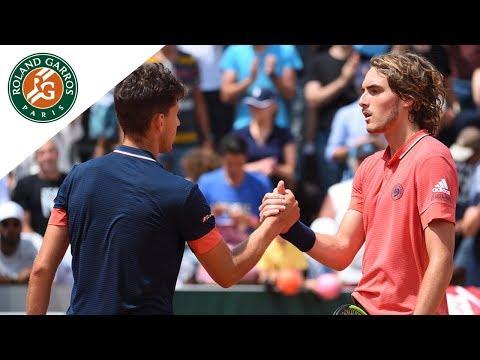 Beauty Shots #5 - Dominic Thiem vs Stefanos Tsitsipas I Roland-Garros 2018