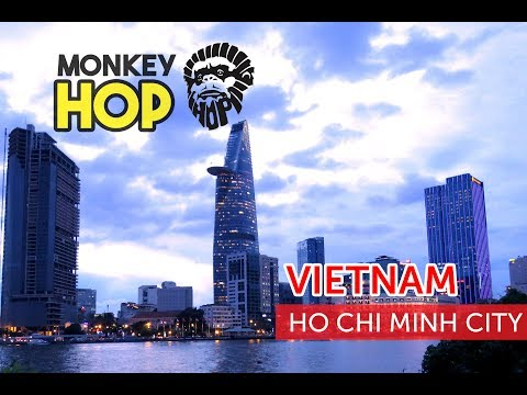 Monkey Hop finds the highest building in Ho Chi Minh City, Asian food culture and cheap markets in V
