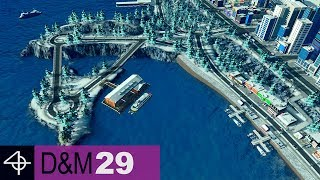 Coastline Makeover | Unmodded Cities: Skylines – Design and Manage, Part 29
