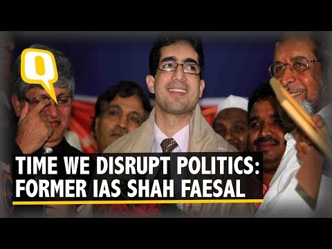 Who is Shah Faesal, the Kashmiri IAS Topper Who Quit Civil Services? | The Quint