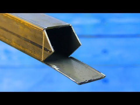The Secret Of A Shaped Tube! WHY WELDERS DON'T TALK ABOUT IT!!!