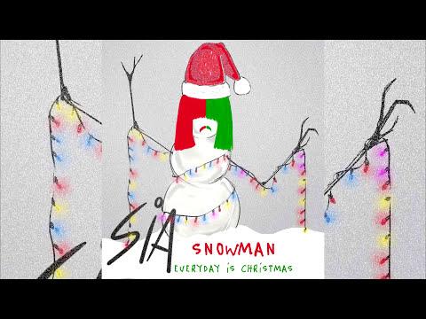 Sia - Snowman (Instrumental Audio)