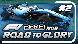 F1 Road to Glory 2019 - Part 2: OUR CAR IS A KAYAK ON WHEELS!