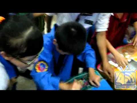 Đội trẻ Vovinam Nhà Thiếu Nhi chơi game tại siêu thị Coopmart Vũng Tàu