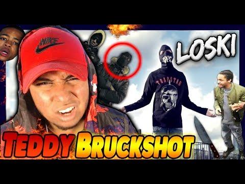 MOST WANTED OPP IS BACK! Loski - Teddy Bruckshot REACTION !! @Drilloski_hs  Harlem Spartans vs 410?