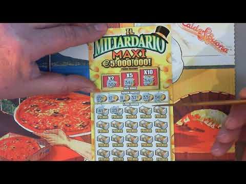 лотерея Италии, билет за 20 евро и ... клубничка!