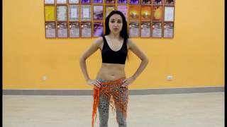 Восточные танцы. Видео-уроки. Круги грудью и бедрами.