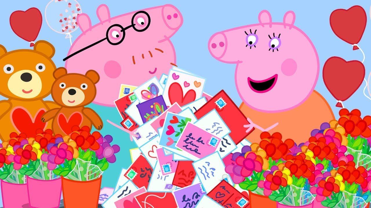 Download Mama und Papa Wutz ❤️ Valentinstag-Special ❤️ Cartoons für Kinder | Peppa Wutz Neue Folgen