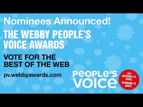 The 17th Annual Webby Award Nominee Announcement Video