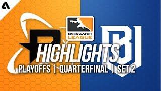 Philadelphia Fusion vs Boston Uprising | Overwatch League Playoffs Highlights Quarterfinals Match 2
