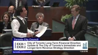 Mayor Tory smacks down Giorgio Mammoliti on tolls