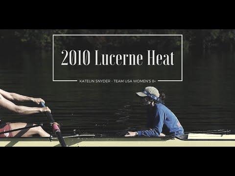 Katelin Snyder || USRowing W8+ 2010 World Cup III Heat (Coxswain Recording)