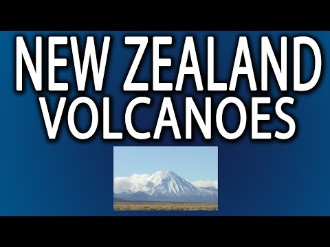 Largest Volcano in New Zealand? Lake Taupo
