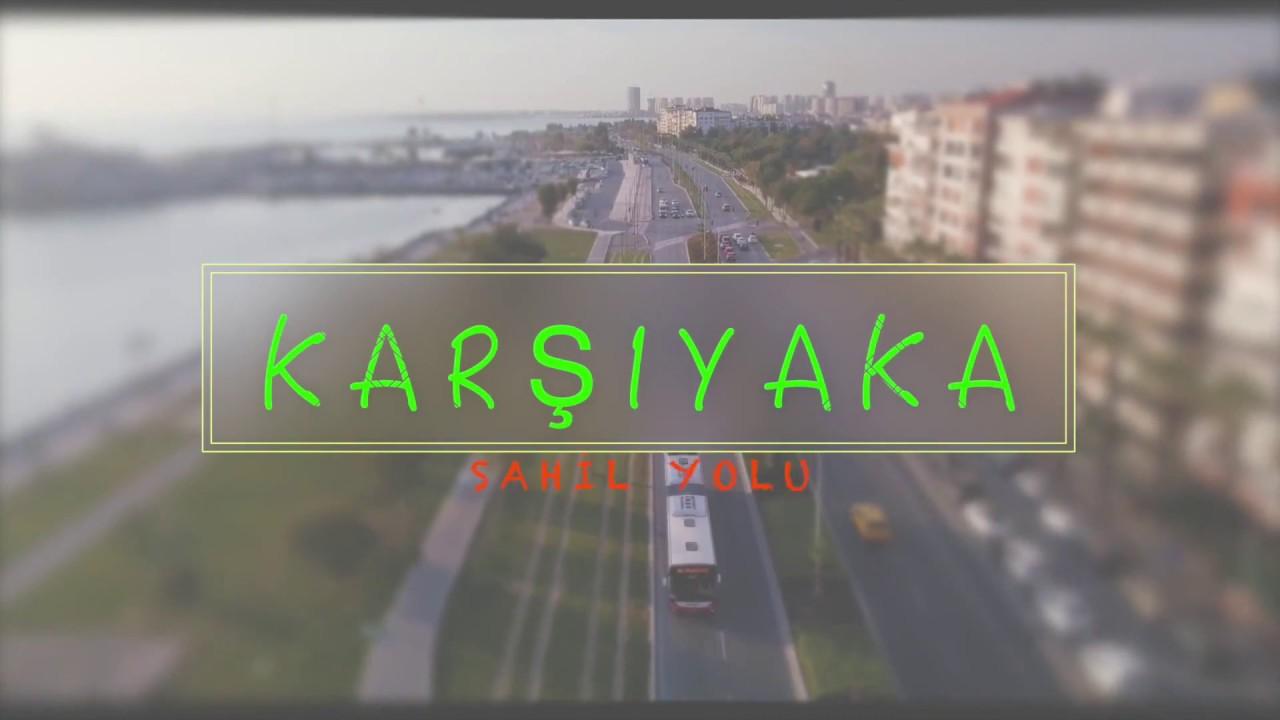 Walking in Izmir Karşıyaka: Coast Tour | Turkey 2021 | 4K 60fps