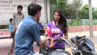 in bus stop| Ladki patane ke tarike(funny)