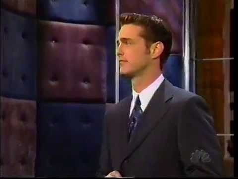 Jason Priestley on Conan 19980220