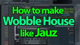 How to make Wobble House Bass like Jauz or Don Diablo - NI Massive Tutorial + FLP File