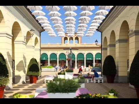 Serravalle designer outlet near milan italy youtube for Serravalle designer outlet
