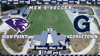 2021 NCAA Men's  Soccer Tournament - High Point vs Georgetown