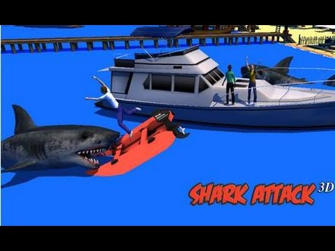 Shark Attack 3D Simulator - Симулятор акулы-убийцы на Android ( Review)