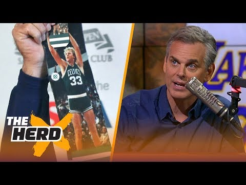 Colin Cowherds all-time starting 5 for todays game | NBA | THE HERD