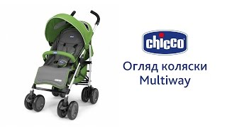 Прогулочная коляска Multiway(Multiway - функциональная и практичная прогулочная коляска. 4 Пары сдвоенных колес с амортизацией позволяют..., 2015-09-21T10:48:52.000Z)