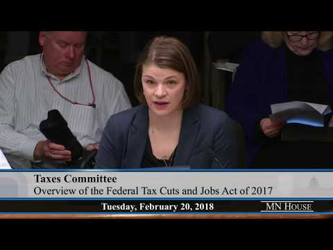 House Taxes Committee  2/20/18