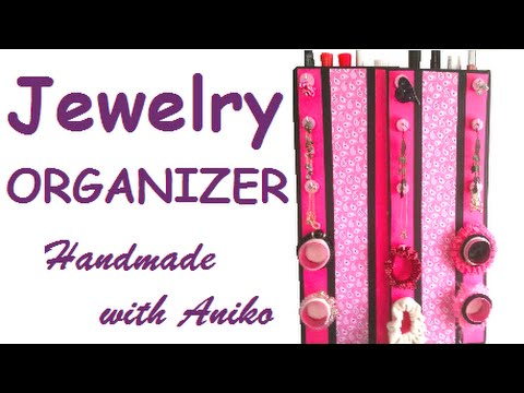 How to make jewelry ORGANIZER YouTube