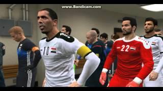 المنتخب العراقي في لعبه بيس 2016 جديد