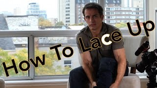 How To Lace Up Your Skates  Inline Skating Beginner Tip