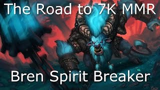Dota 2 Spirit Breaker Guide: 6.6K MMR - How to SNOWBALL Easily, Laning Guide