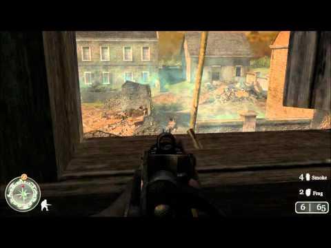 "Call of Duty 2- Mission 17: Prisoners of War ""Veteran mode"" |"