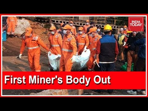 First Miner's Decomposed Body Retrieved From Meghalaya Rat-Hole Mine